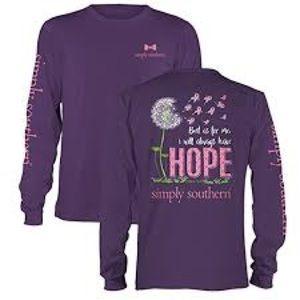 Simply Southern Hope long sleeve shirt